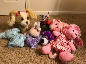 Lot of stuffed animals for Sale in Houston, TX