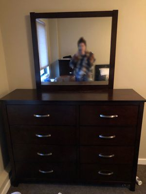 Dresser with Mirror for Sale in Portland, OR