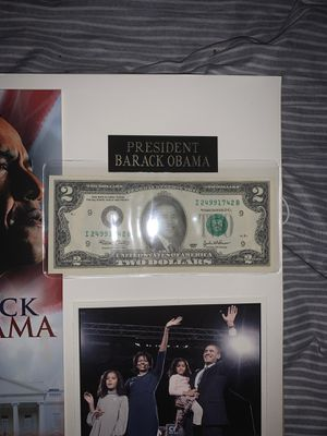 Official 2$ dollar bill for Sale in Philadelphia, PA