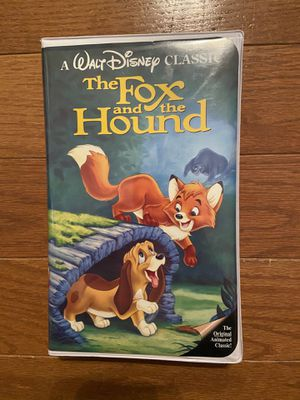"The Fox and the Hound ""Black Diamond"" Disney VHS #2041 for Sale in Eureka, MO"