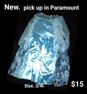 Elsa toddler costume for Sale in Lynwood, CA