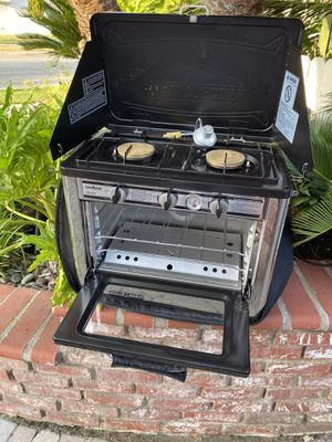 Camp Chef Outdoor Camping Oven & 2 Burner Stove for Sale in Lakewood, CA