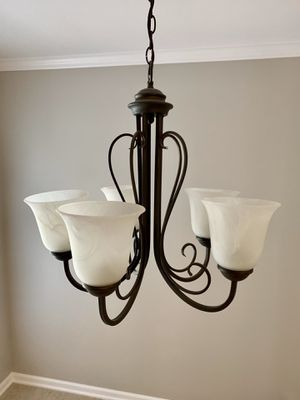 5 light chandelier for Sale in Cary, NC