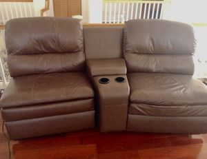 Recliner Chair Sofa Set W/ Center Piece Cup Holders for Sale in ROWLAND HGHTS, CA