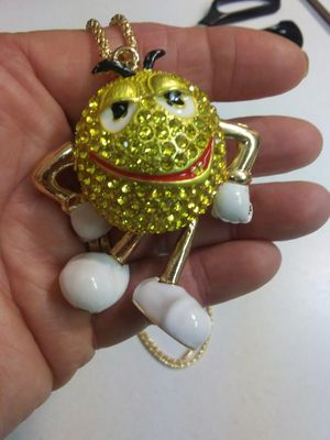 M&M Yellow Mr Lovely Chocolate Pendant Arms/Legs Move for Sale in Brooksville, FL