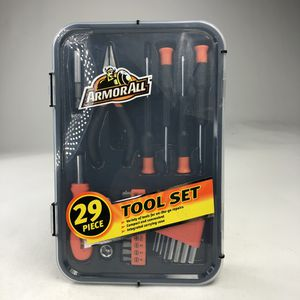 ARMORALL 29 Piece Tool Set Screwdriver Hex Wrench Variety Set Case on-the-go for Sale in Miami, FL