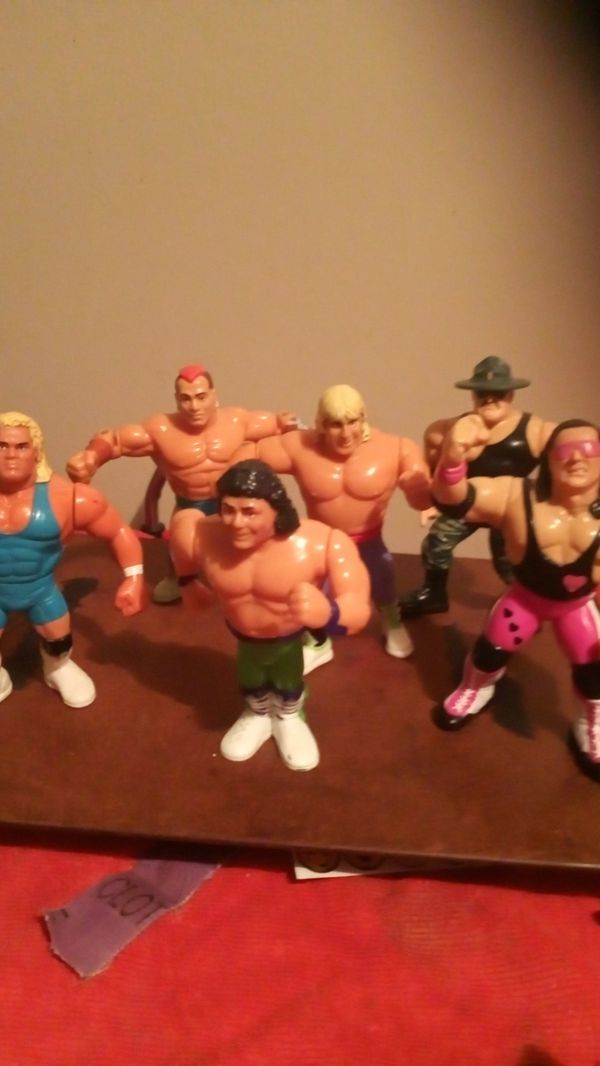 Hasbro 1991 wwf collection action figures