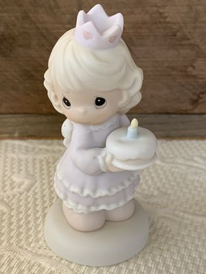 "Precious Moment Porcelain 1996 ""Birthday Wishes With Hugs & Kisses"" Figurine for Sale in Danville, CA"