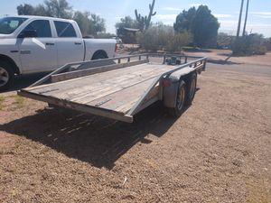 "trailer, 6' 1/2"" X 16', car hauler for Sale in Mesa, AZ"