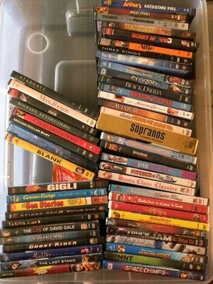 DVDS MUST GO MAKE ME AN OFFER for Sale in San Antonio, TX