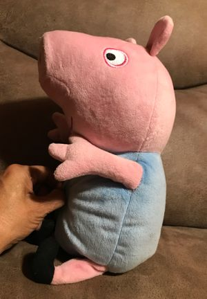 13 inch Peppa Pig stuffed animal/moves and talk-Batteries are not included $12 for Sale in Menifee, CA