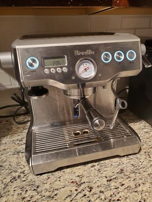 Working breville dual boiler coffee maker in great condition. for Sale in Herndon, VA