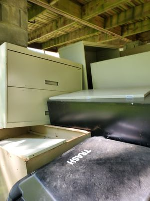 Metal shelves and file cabinets for Sale in Youngwood, PA