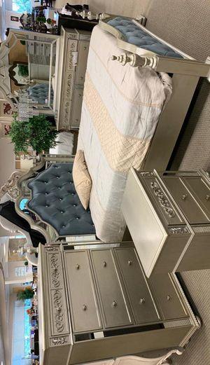 Sterling Silver Bedroom Set for Sale in Silver Spring, MD