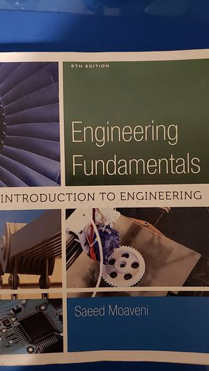 5th edition Engineering fundamentals textbook for Sale in Oakley, CA