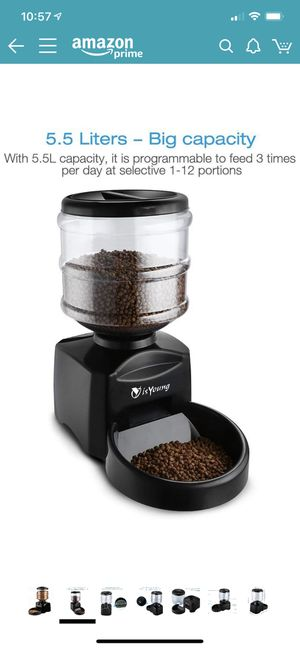 Automatic Pet Feeder for Sale in Victoria, TX