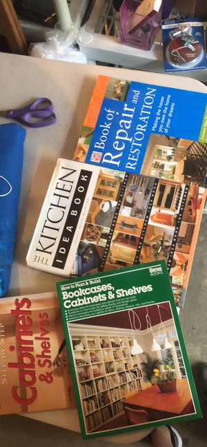 Remodel and Carpentry books - lot of 4 for Sale in Baltimore, MD