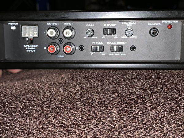Polk Audio PA880 mono block Class D bass/full Amp