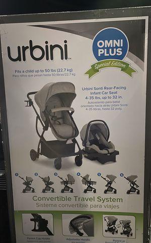 Grey or raspberry stroller car seat for Sale in Grayson, GA