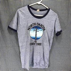 Vintage Early 80s Hanes Ringer South Dakota T-Shirt Men's Size Medium for Sale in Anchorage, AK