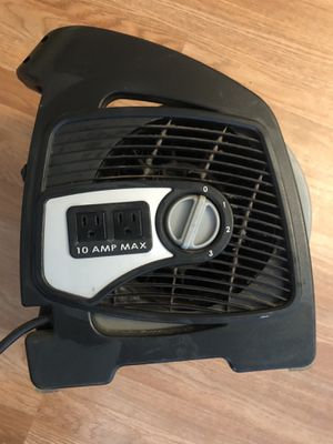 High power fan. Works great for indoor and outdoor use for Sale in Covina, CA