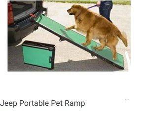 Jeep pet ramp for Sale in Tulsa, OK