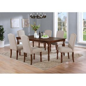 7PCS SET BRAND NEW( SOLID WOOD) for Sale in Muscoy, CA