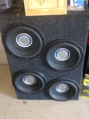4 Gothic 12 inch subwoofers in one box. for Sale in Murfreesboro, TN