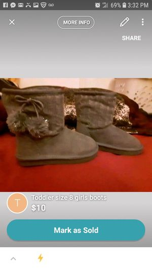 Girls boots brand new toddler size 9 for Sale in Ventura, CA