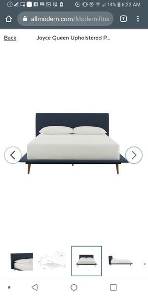 Brand new queen size bed frame with brand new mattress for Sale in Fresno, CA