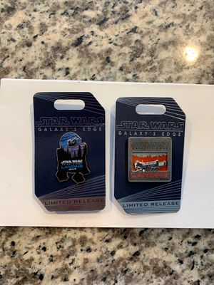 Star Wars Disney Pin Limited Edition Opening day for Sale in Los Angeles, CA