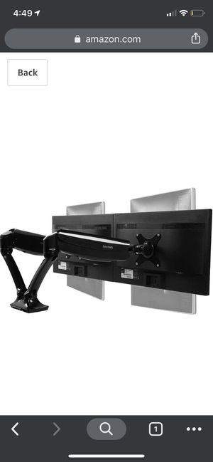 Loctek Dual Monitor Mount Arms for Sale in Glen Burnie, MD