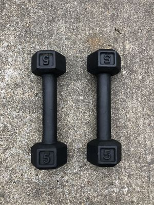 Dumbbells 5lbs for Sale in Houston, TX