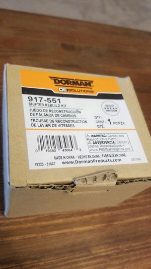 Dorman Shifter Rebuild Kit for Sale in Normandy Park, WA