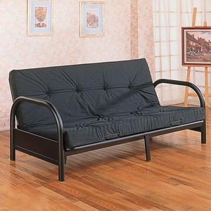 Full size futon frame with futon mattress for Sale in Jersey City, NJ