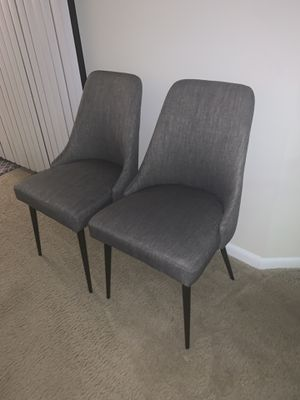 Set of Grey Chairs for Sale in Baltimore, MD