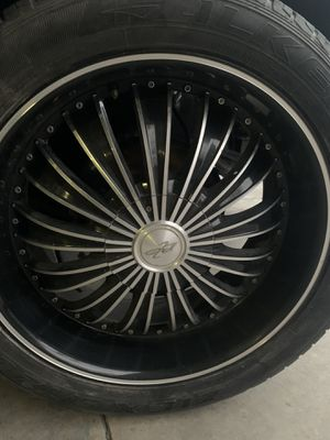 """22"""" Rims With Tires for Sale in San Antonio, TX"""