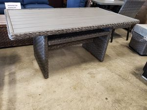 New outdoor patio furniture table tax included for Sale in Hayward, CA