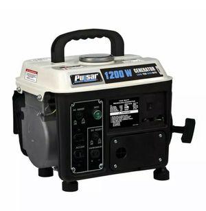 Pulsar 1200 watt 2 cycle generator 72 cc generator for Sale in Fresno, CA
