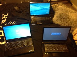 Dell, And 2 Toshiba for Sale in North Little Rock, AR