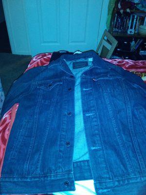 XL Mens Levi jean jacket for Sale in Denver, CO