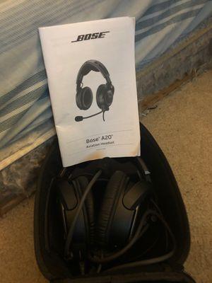 Bose A20 Aviation Headset for Sale in Virginia Beach, VA