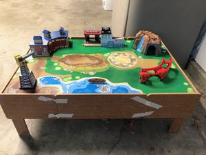 Kids Toy Train Table W/ Toys Included - Make a Offer! for Sale in Tustin, CA