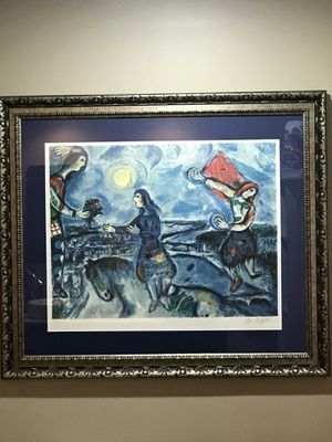 Beautifully framed Marc Chagall print - perfect condition. for Sale in Miami, FL