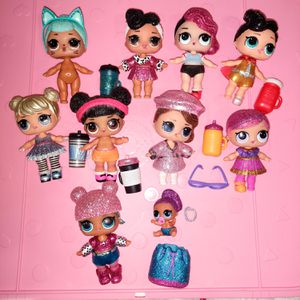 Lol Surprise Glitter Bling Doll Lot for Sale in Chandler, AZ