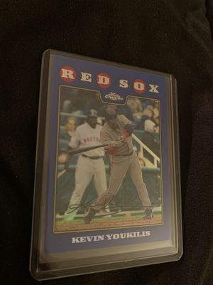 Red Sox collectible baseball card for Sale in OSBORNVILLE, NJ