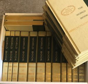 World Book Encyclopedia 50th Anniversary edition complete set for Sale in Colleyville, TX