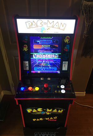 1up Pac-Man arcade 800 Games for Sale in Rancho Cucamonga, CA