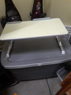 Dinner laptop tray adjustable for Sale in Binghamton, NY