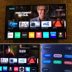 """VIZIO QUANTUM 4K UHD HDR SMART TV 55"""" for Sale in Dallas, TX"""